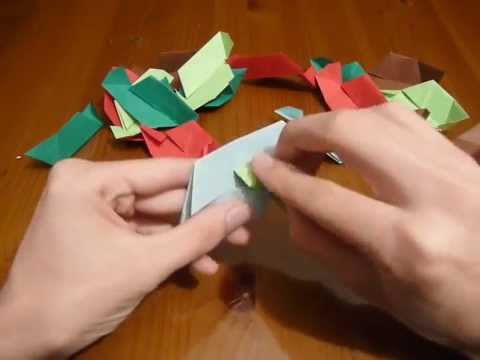How to make an origami truncated tetrahedron