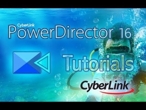 CyberLink PowerDirector 16 - How to Make 2D Text and 3D Text [Tutorial]