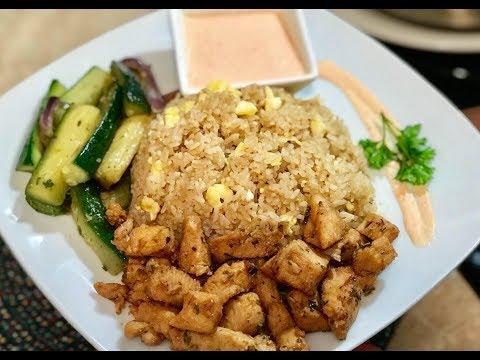 Sunday Dinner | Homestyle Hibachi | Bonus White Sauce and Garlic Herb Butter Recipe