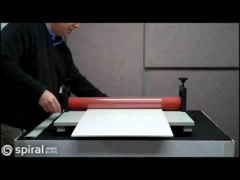 Polar Cub Manual Laminator - Mounting to Pouchboard