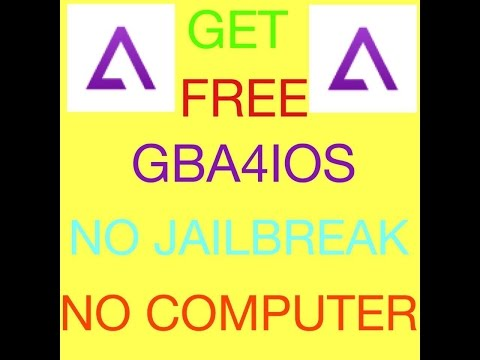 [NEW] Get GBA4IOS on IOS 9.3.5-9.3.4(No Jailbreak/Pc)