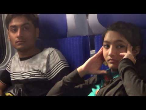 Paris to Zurich by EuRail with family