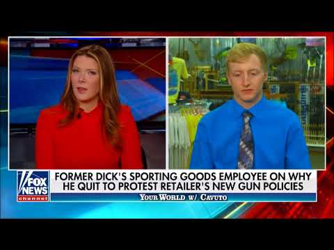 Dick's Sporting Goods Employee Quits Over Gun Restriction