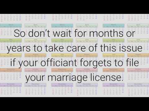 Marriage Licenses: 3 Common Mistakes