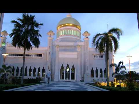 Call to Prayer in Brunei Mosque