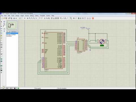 Stepper motor interfacing with 8051 microcontroller using ULN2003A