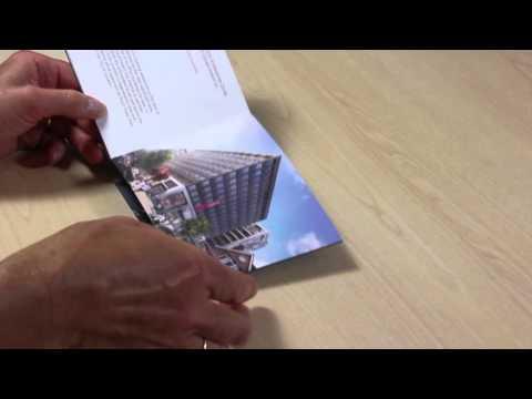 Concertina Z Fold Mini Brochure