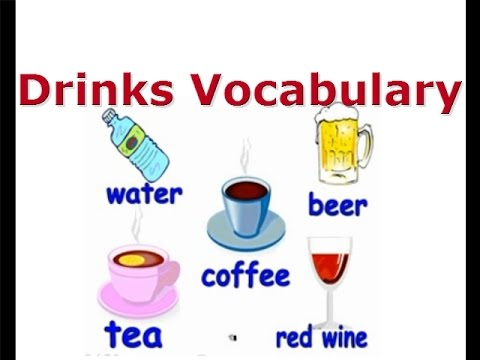 Drinks Vocabulary- English Courses for children, ESL Kids Lessons
