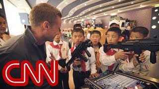 CNN reporter to N. Korean child: Do you want to shoot me?