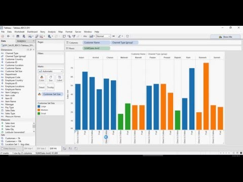 Tableau - Do it Yourself Tutorial - Creating Sets and Calculations - DIY# 2-of-50