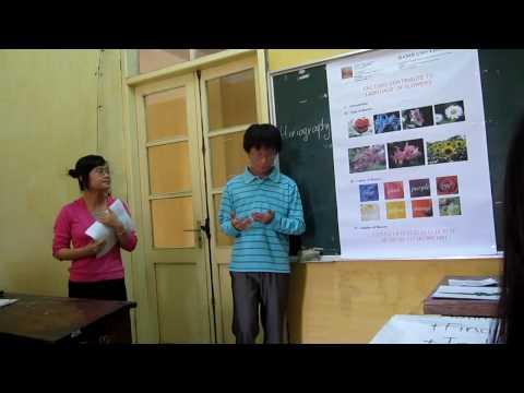 Presentation - Language of flowers p1