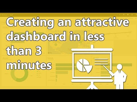 Creating an attractive dashboard in less than 3 minutes