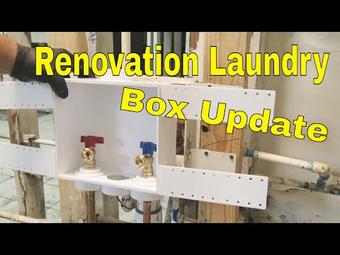 Plumbing Renovation Part 3 Laundry box And plumbing wall 👍👍👍