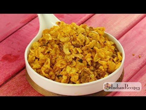 Cornflakes Chivda Recipe | Cornflakes Mixture | Cornflakes Namkeen