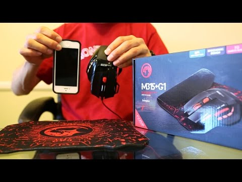 REVIEW - Marvo M315 Gaming Mouse - RED/BLACK