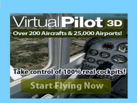 Free DOWNLOAD Virtual Pilot 3D - Flight Simulator Game [ Full Version].mp4
