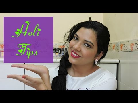 Pre and Post Holi Tips  Skincare, Haircare and General Tips   beautywithsneha