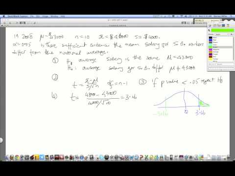 Part 2: p-value  2-tailed t-test
