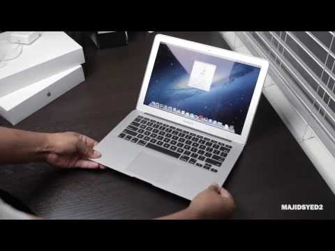 Macbook Air 2013 Unboxing and Overview (13 inch + Haswell Processor)