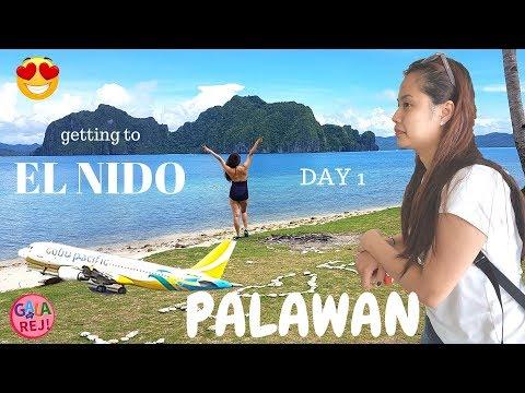 EL NIDO PALAWAN (June 2017)| DAY 1 - GETTING FROM MANILA TO PALAWAN