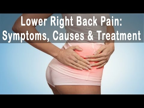 Lower Right Back Pain : Symptoms, Causes  & Treatment of Lower Back Pain Right Side