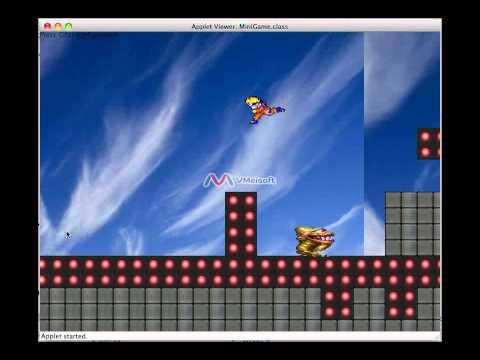 Java applet - Game Demo