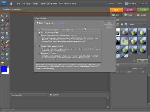 Photoshop Elements 7 Tutorial Video - Adjusting Color