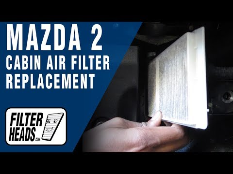 How to Replace Cabin Air Filter Mazda 2
