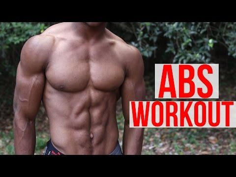 5 Minute Home ABS Workout - Follow Along