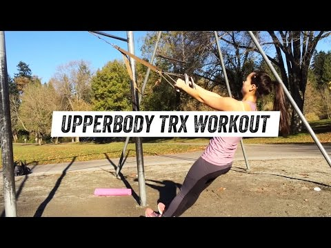 Get a Strong Upperbody and Back using a TRX