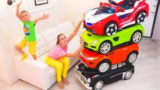 Download Magic Little Driver ride on Toy Cars and Transform car for kids Video