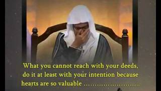 "Al Maghamsi speak wisdom & cry :""How to glorify Allah""...(certainly you never heard such speech)"