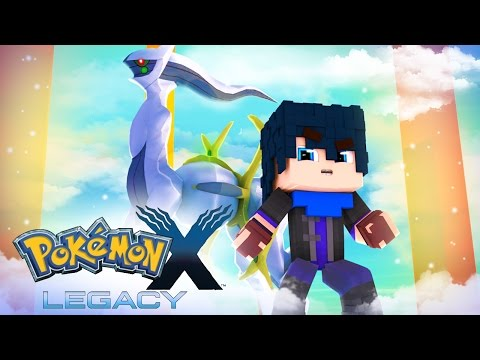 Minecraft: Pokemon X Legacy ENCONTREI ARCEUS DEUS DOS POKEMONS 10#