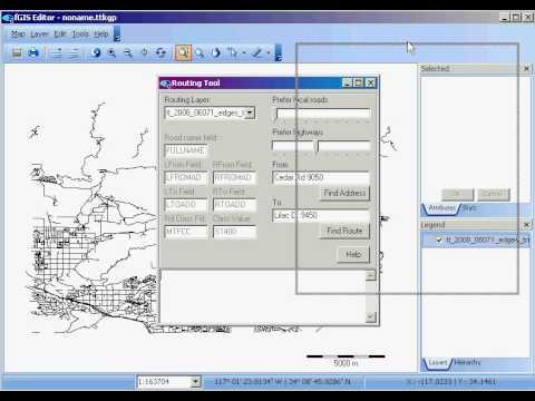 fGIS: Routing tool
