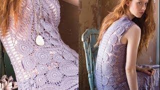 8 Column Dress, Vogue Knitting Crochet 2013 Special