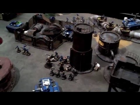 Astra Militarum vs Dark Eldar - 2400pts - Fully Painted Video Battle Report
