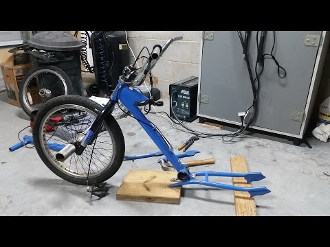 How to build a motorized drift trike Part 1