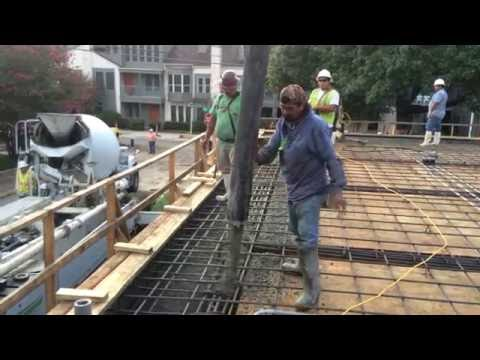 AEP - 2016 - Meeting Room Addition - Raised Slab Concrete Pour