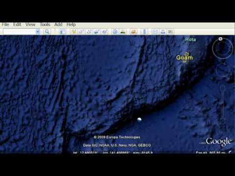 Google Earth 5 - New 3D Ocean