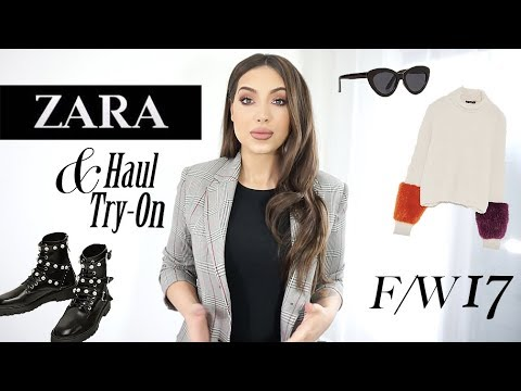 Huge ZARA Try-On Haul   Killer Pieces For Fall & Winter You Should Have Too!