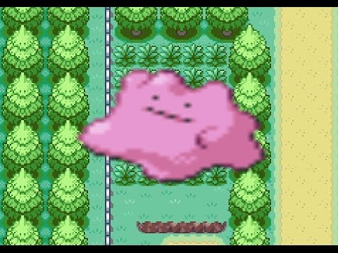 How to find Ditto in Pokemon Fire Red and Leaf Green