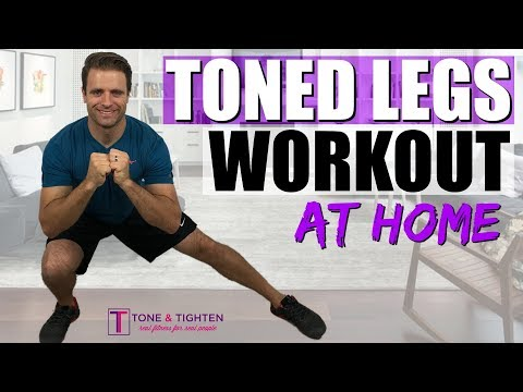Toned Legs Workout At Home | 20-Minute Workout To Tone Your Thighs And Tighten Your Butt