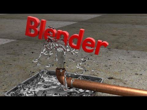 Blender Tutorial: Water Balancing Text Animation