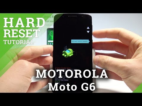 How to Hard Reset MOTOROLA Moto G6 - Remove Screen Lock / Restore Factory |HardReset.Info