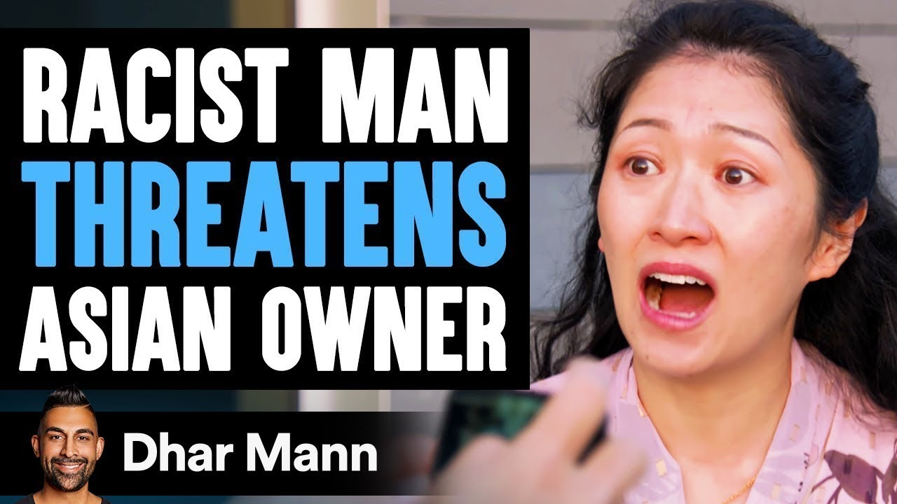 Business Man THREATENS ASIAN Owner, Lives To Regret It | Dhar Mann
