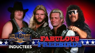 The Fabulous Freebirds join the WWE Hall of Fame Class of 2016