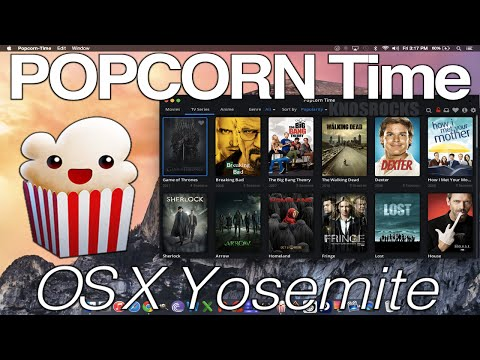 How To Install Popcorn Time Mac OS X Yosemite Mini/Air/MacBook/Pro/iMac Watch HD Movies