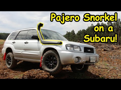 Offroad Forester Project Ep5. Snorkel Install