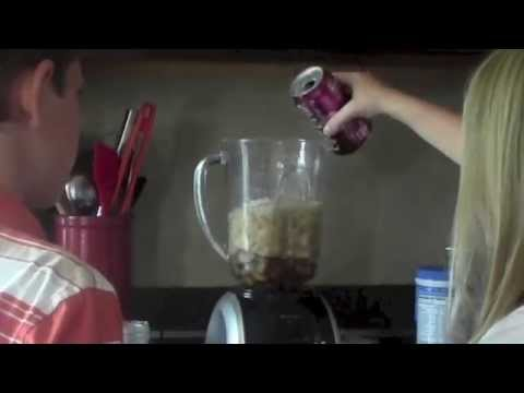 How to make a easy homemade slushy and popsicle
