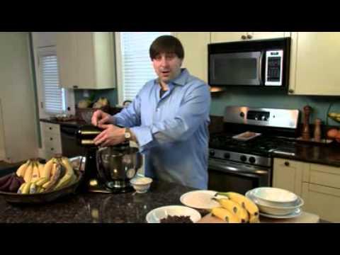 Chiquita's Moist Chocolate Chip & Banana Cookies - Fluffy & Thick!